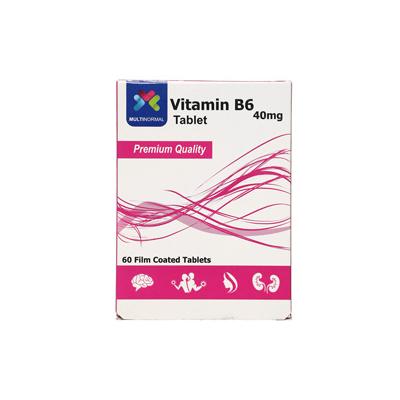 ویتامین ب6 40 میلی گرم